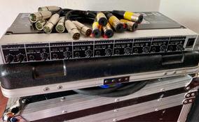 Amplificador De Fone Behringer Powerplay Ha8000 + 8 Adaptado
