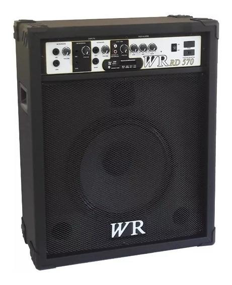 Caixa De Som Amplificada Bluetooth/microfone/guitarra 12 70w