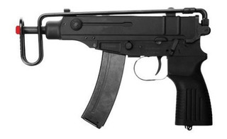 Airsoft Pistola Kwa Smg Kz61 Skorpion Gbb Gas Blowback