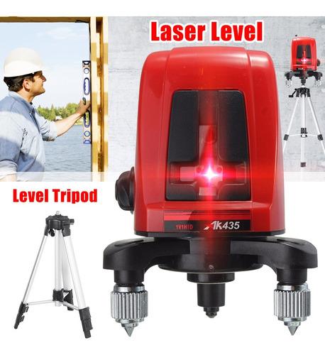 Ak435 360° Auto-nivelamento Cruz Laser Nível 2 Linha