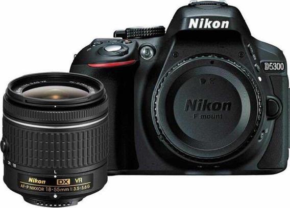 Nikon D5300 New 2020 Súper Kit Nikkor 18-55mm+bolso+64gb