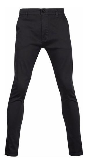Pantalones Hombre Chupines De Vestir Gabardina Elastizado