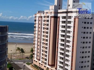 Apartamento Em Praia Grande, 01 Dormitório, Sala Com Varanda Vista Mar. Lazer Completo Na Mirim Ap1795 - Ap1795