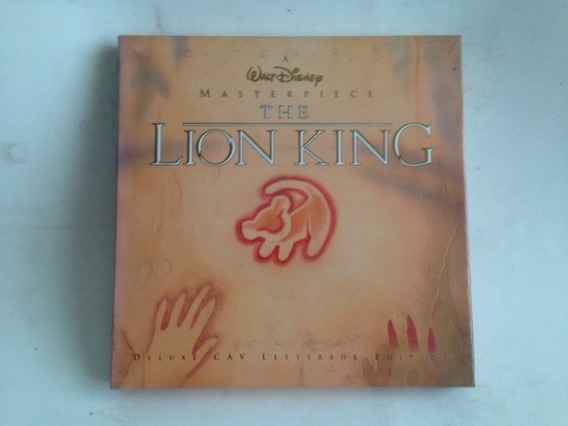 Laser Disc The Lion King - Deluxe Edition