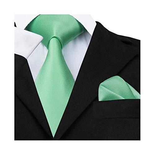 Dibangu Para Hombre Corbata Y Pañuelo De Bolsillo Tela Conj