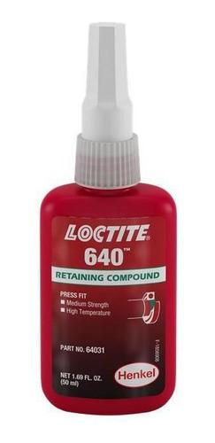Adesivo Loctite 640 Trava Roscas Alto Torque Verde 50g