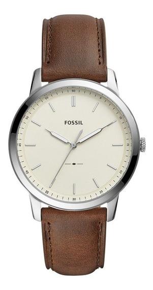 Reloj Fossil Correa Cuero Marron Fs5439