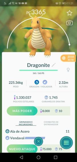 Dragonite Pokémon Go Intercambio Pc Alto 3000+