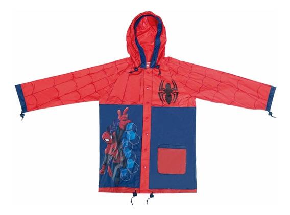 Piloto Para Lluvia Hombre Araña Spiderman Orig. Mundo Manias