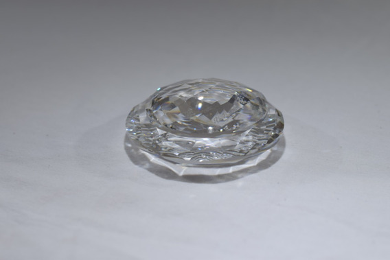 Porta Joias Em Miniatura Cristal Swarovski 8x4 Assinado