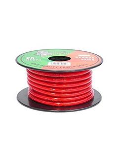 Rpr825 Pirámide 8 Wire Gauge De Energía 25 Pies Ofc (rojo Cl