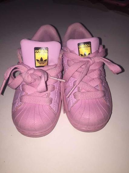 Zapatillas adidas Superstars Nena Rosa