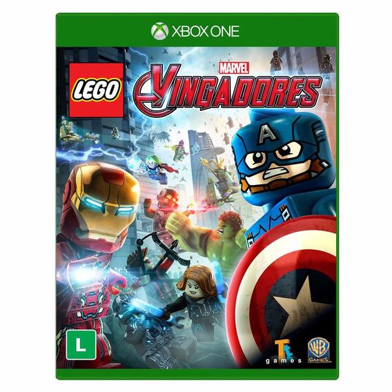 Lego Marvel Vingadores - Xbox One - Novo - Midia Física
