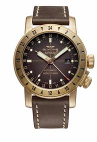 Dia Dos Namorados Relógio Glycine Airman 44 Bronze Gmt Auto