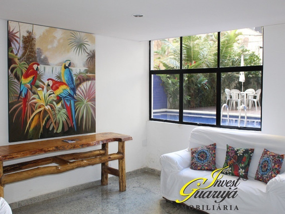 Pitangueiras Flat Novo Pronto Para Morar, 150 Metros Da Praia,só R$ 350.000,00 Sendo 100.000,00 Entrada + 60 Parcelas Fixas - Fl00179 - 34271263