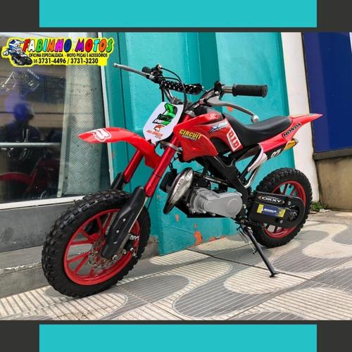Mini Moto 2 Tempos 50cc