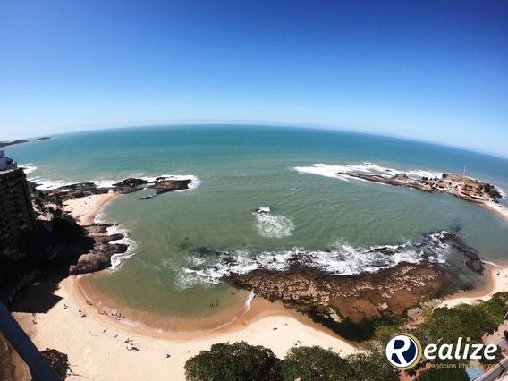 Luxuoso Apartamento De 4 Quartos De Frente Para O Mar Da Praia Das Castanheiras Em Guarapari - Ap00376 - 34294872