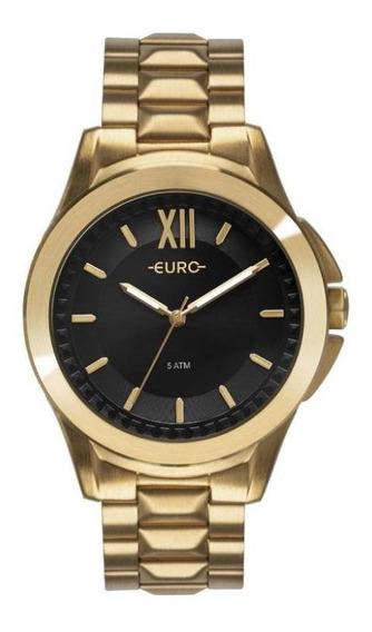 Relógio Euro Feminino Analógico Multifunção Moderno Casual