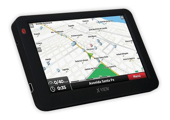 Gps X-view 4.3 Pulgadas Venture Go Mapas Alertas Velocidad Camara