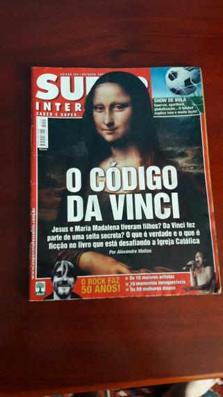 Revista Super Interessante - Ed 205 - Código Da Vinci