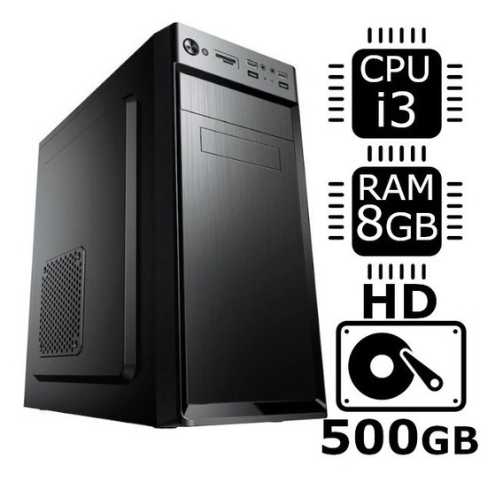 Computador Desktop Brother Intel I3 2.93ghz 8gb Hd 500gb