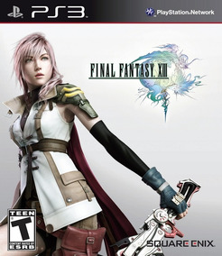 Jogo Final Fantasy Xiii 13 Playstation 3 Ps3 Mídia Física