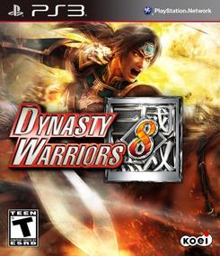 Dynasty Warriors 8 Ps3 - Mídia Digital