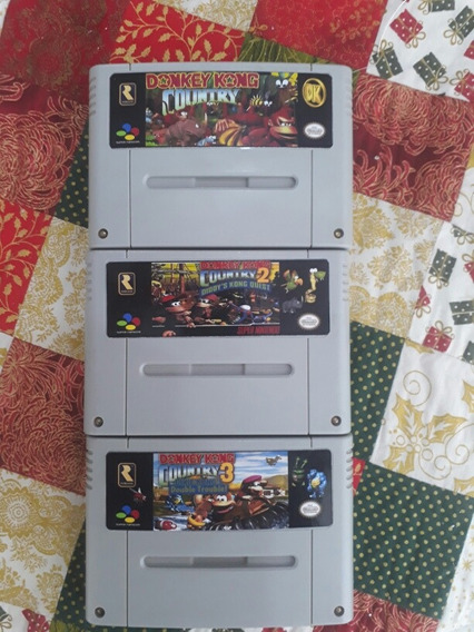 Trilogia Donkey Kong Country