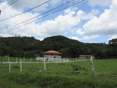 Belo Terreno Pronto Para Construír/frente Asfalto/ref:04766
