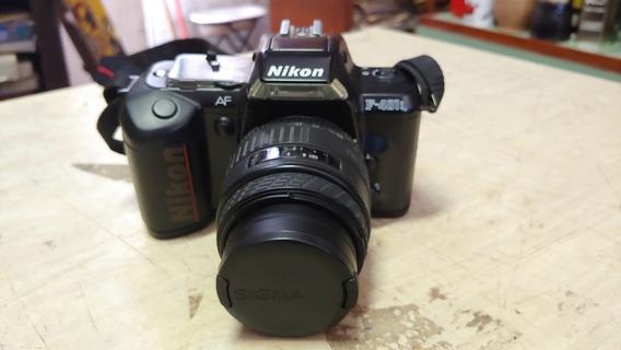 Camera Nikon F-401s Com Lente Sigma 28 - 70 Mm