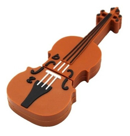 Pen Drive 4g Violino Music Moonlight Marrom