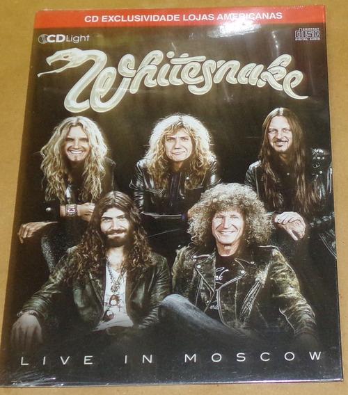 Whitesnake Live In Moscow Cd Brasilero Nuevo Sellado / Kktus