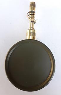 Aceitera Para Armas Antigua Pico Bronce Tipo Militar