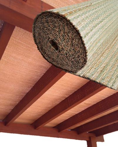 Forro Para Pergolado De Palha Natural 30x0,90 (27m²)