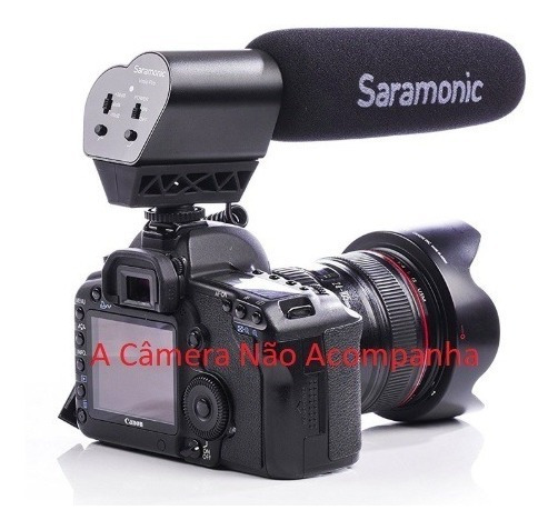 Microfone Direcional Saramonic V-mic