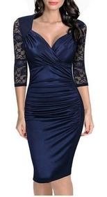 Vestido De Gala Azul, Casamiento, Bautismo, Graduacion