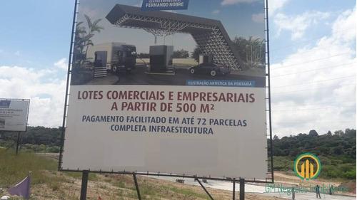 Imagem 1 de 7 de Ótimos Terrenos Comerciais  E Empresariais Novo Loteamento Bem Localizado - W1672