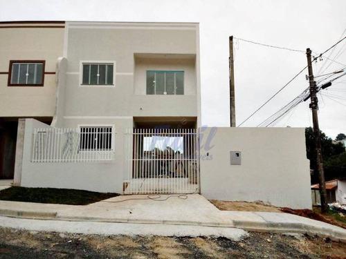 Sobrado Residencial À Venda, Ronda, Ponta Grossa. - So0008