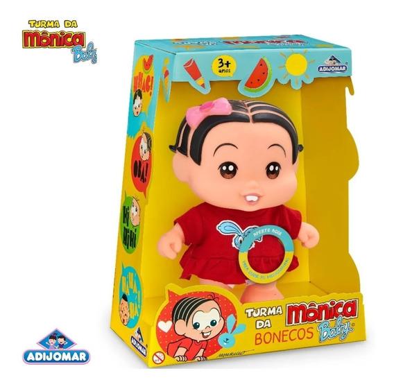 Boneca Mônica Turma Da Mônica Baby - 412 Adjomar