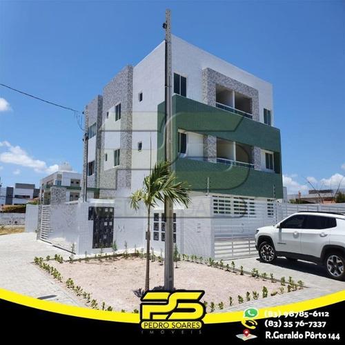 Apartamento Com 2 Dormitórios À Venda, 60 M² Por R$ 209.900 - Bessa - João Pessoa/pb - Ap2459