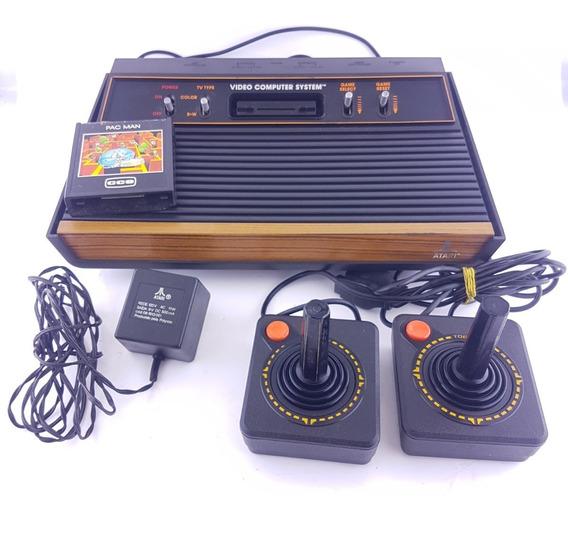 Kit Atari, Com Joysticks E Jogo!