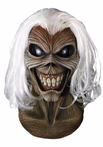 Máscara De Látex Killers  Iron Maiden Original