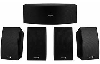 Dayton Audio Hts-1200b Home Theater Speaker System Negro