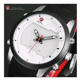 Relógio Digital Shark Sh540 Alarme Pulseira Silicone