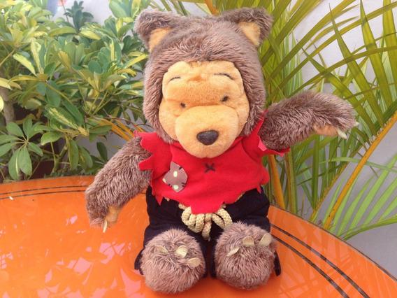 Pelúcia Usado Ursinho Puff Pooh Disney 38cm