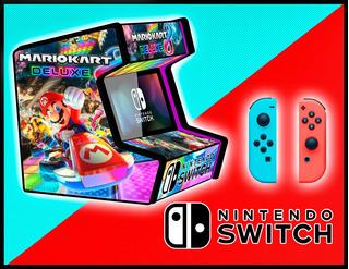 Nintendo Switch Arcade Cabina Maquinita Mario Kart