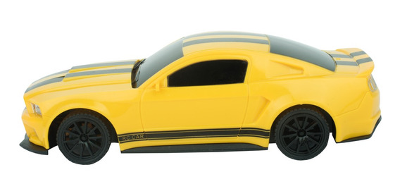 Carro Mustang A Control Remoto Mt402827 Amarillo
