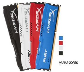 Memória 8gb 1866mhz Ddr3 Kingston Hyperx Fury Nova Lacrada