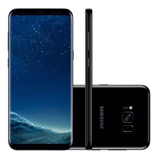 Samsung Galaxy S8 Plus G955 Tela 6.264gb Novo De Vitrine Caixa Original Acessorios Orignal Anatel Nacional Perfeito