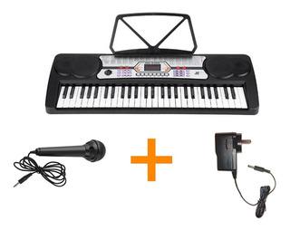 Organo Teclado Musical 54 Teclas Mk4300 + Fuente Promo
